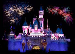 Disney castle based on
