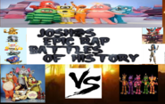 The banana splits vs the mediocre melodies ft, the massive monster superstars and the yo gabba gabba gang