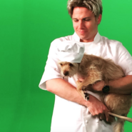 Gordon Ramsay and Pebbles