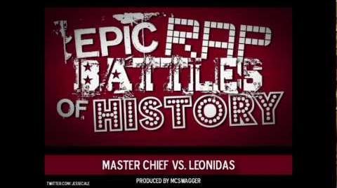 Master Chief vs Leonidas