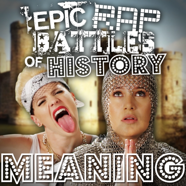 Miley Cyrus vs Joan of Arc/Rap Meanings | Epic Rap Battles