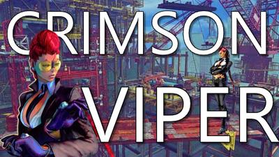 Crimson Viper Title Card