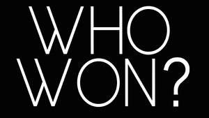 Blank Who Won