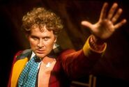 Sixth Doctor portrait