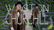 Winston Churchill Alternate Titler Card