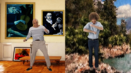 Bob Ross vs Pablo Picasso Who Won Without Text