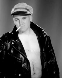Lloyd Ahlquist as Marlon Brando