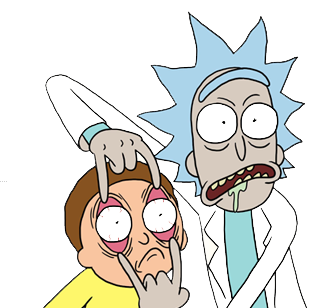 Image - Rick and morty.png | Epic Rap Battles of History ...