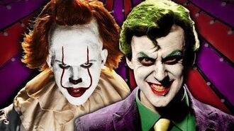The Joker vs Pennywise. Epic Rap Battles Of History