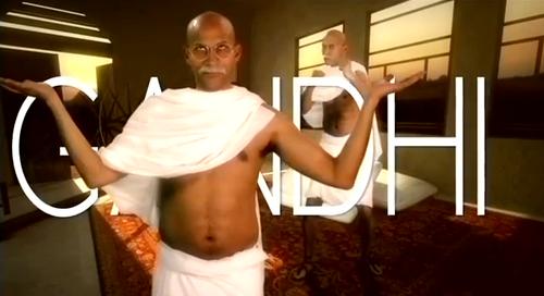 Gandhi Title Card