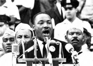 MLK's Dream Speech Based On