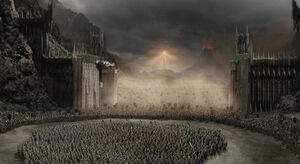 The Black Gate of Mordor Based On