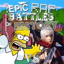 Homer Simpson vs DMC Dante