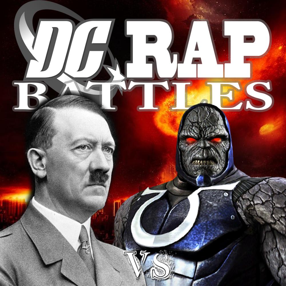 image - darkseid vs adolf hitler | epic rap battles of history