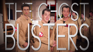 Ghostbusters Title Card