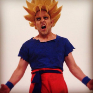 Goku Behind The Scenes