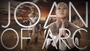 Joan of Arc Title Card