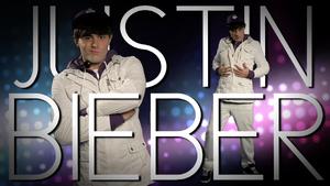 Justin Bieber Title Card
