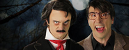 Stephen King vs Edgar Allan Poe Banner