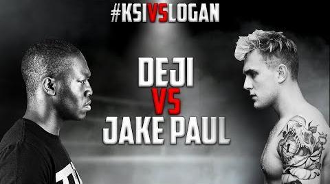Deji VS. Jake Paul - FULL FIGHT KSIvsLogan