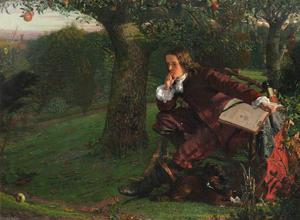 Isaac Newton's Garden Based On