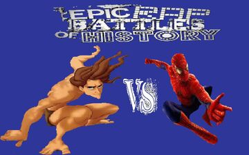 Tarzan vs Spider-Man