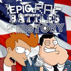 Futurama vs American Dad! cover