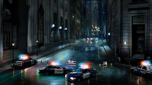 Gotham City Street Based On