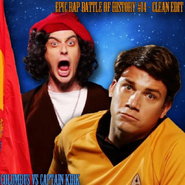 Columbus vs Captain Kirk Alternative Cover