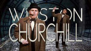Winston Churchill Title Card
