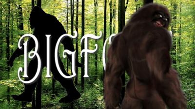 Bigfoot Title Card Aliens vs History