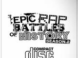 Epic Rap Battles of History Season 2 CD