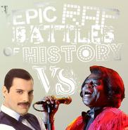 James Brown VS Freddie Mercury