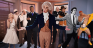 Frederick Douglass vs Thomas Jefferson Cameos