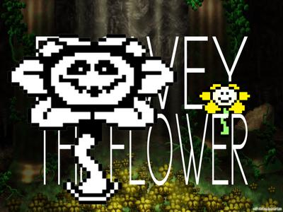 Flowey the Flower Villain Toruney Title Card