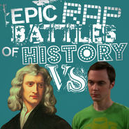 Isaac Newton vs Sheldon cooper