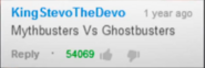 Ghostbusters vs Mythbusters Suggestion