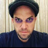 EpicLLOYD with purple make-up for Thanos