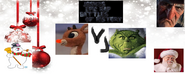 Ruldolph vs the grinch ft.frost the snowman ebenezer scrooge and santa clause