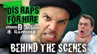 Behind the Scenes Dis Raps For Hire - Season 2 Ep. 2