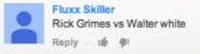 Rick Grimes vs Walter White Suggestion