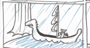 Thor's Viking Ship Storyboard 1