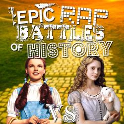 Alice vs Dorothy story battle cover art