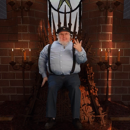 George R. R. Martin Iron Throne