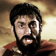 Leonidas In Battle