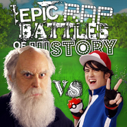 Ash Ketchum vs Charles Darwin