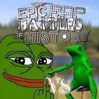 Frog vs shit frog
