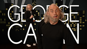 George Carlin Title Card