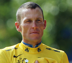 Lance Armstrong Racing Outfit Based On