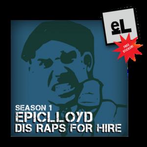 Dis Raps For Hire Season 1 CD